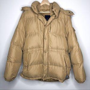 Moncler Vintage Coyote Fur Hood Down Filled Coat